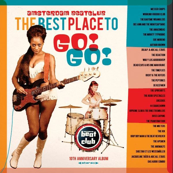 THE BEST PLACE TO GO! GO! - VARIOUS