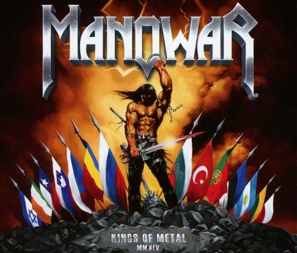 MANOWAR - Kings Of Metal Mmxiv (silver Edition)