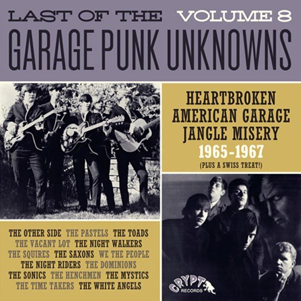 LAST OF THE GARAGE PUNK UNKNOWNS 8