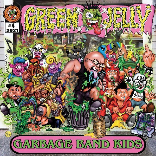 GREEN JELLY - GARAGE BAND KIDS